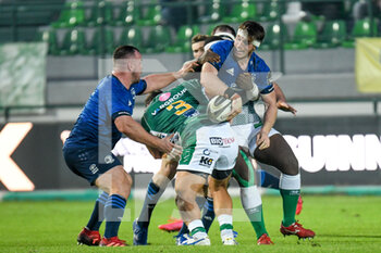 10/10/2020 - Offload by Ryan Baird (Leinster) - BENETTON TREVISO VS LEINSTER RUGBY - GUINNESS PRO 14 - RUGBY