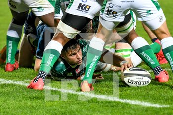 10/10/2020 - Eli Snyman (Treviso) - BENETTON TREVISO VS LEINSTER RUGBY - GUINNESS PRO 14 - RUGBY