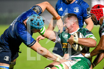 10/10/2020 - Sebastian Negri (Treviso) fights for the ball against Will Connors (Leinster) - BENETTON TREVISO VS LEINSTER RUGBY - GUINNESS PRO 14 - RUGBY