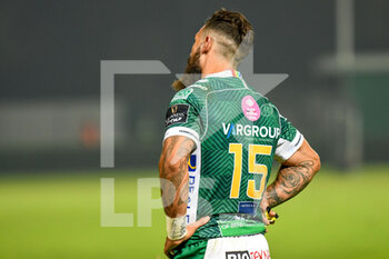 10/10/2020 - Jayden Hayward (Treviso) delusion for the defeat - BENETTON TREVISO VS LEINSTER RUGBY - GUINNESS PRO 14 - RUGBY