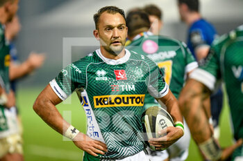 10/10/2020 - Dewaldt Duvenage (Treviso) - BENETTON TREVISO VS LEINSTER RUGBY - GUINNESS PRO 14 - RUGBY