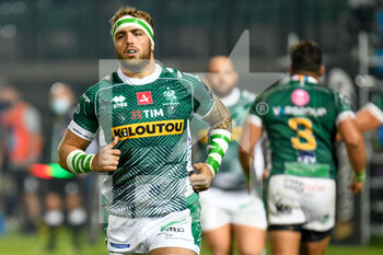10/10/2020 - Niccolo Cannone (Treviso) - BENETTON TREVISO VS LEINSTER RUGBY - GUINNESS PRO 14 - RUGBY