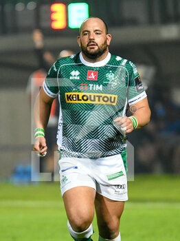 10/10/2020 - Nicola Quaglio (Treviso) - BENETTON TREVISO VS LEINSTER RUGBY - GUINNESS PRO 14 - RUGBY