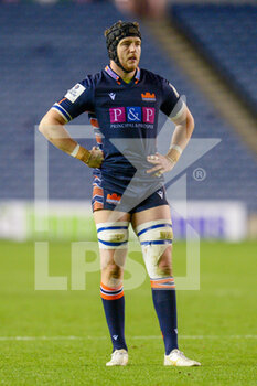 25/10/2020 - Lewis Carmichael (4) of Edinburgh Rugby during the Guinness Pro 14 rugby union match between Edinburgh Rugby and Connacht Rugby on October 25, 2020 at BT Murrayfield Stadium in Edinburgh, Scotland - Photo Malcolm Mackenzie / ProSportsImages / DPPI - EDINBURGH RUGBY VS CONNACHT RUGBY - GUINNESS PRO 14 - RUGBY