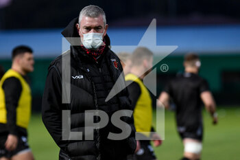 29/11/2020 - Dean Ryan (Head Coach Drangons Rugby) - BENETTON VS DRAGONS - GUINNESS PRO 14 - RUGBY