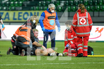 29/11/2020 - Lloyd Fairbrother (Dragons) injury - BENETTON VS DRAGONS - GUINNESS PRO 14 - RUGBY