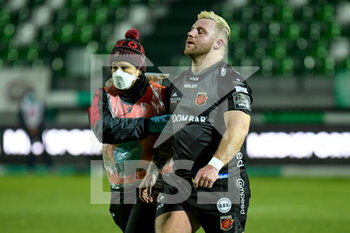 29/11/2020 - Lloyd Fairbrother (Dragons) out for injury - BENETTON VS DRAGONS - GUINNESS PRO 14 - RUGBY