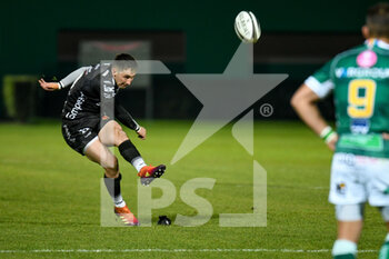 29/11/2020 - Sam Davies (Dragons) kick - BENETTON VS DRAGONS - GUINNESS PRO 14 - RUGBY