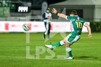 29/11/2020 - Ian Keatley (Benetton Treviso) conversion - BENETTON VS DRAGONS - GUINNESS PRO 14 - RUGBY
