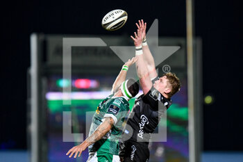 29/11/2020 - Matthew Screech (Dragons) in touch - BENETTON VS DRAGONS - GUINNESS PRO 14 - RUGBY