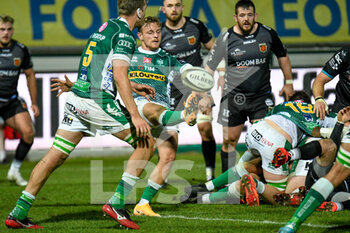 29/11/2020 - Callum Braley (Benetton Treviso) free the game - BENETTON VS DRAGONS - GUINNESS PRO 14 - RUGBY