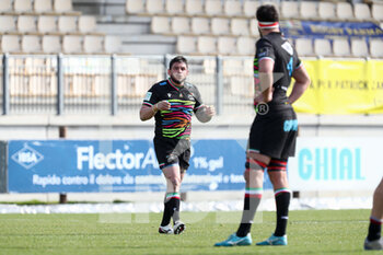 06/03/2021 - Oliviero Fabiani and Samuele Ortis (Zebre) - ZEBRE VS GLASGOW WARRIORS - GUINNESS PRO 14 - RUGBY