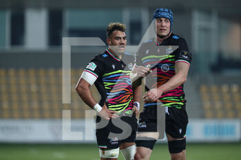 12/03/2021 - Potu Junior Leavasa and Ian Neagle (Zebre Rugby Club) - ZEBRE VS LEINSTER RUGBY - GUINNESS PRO 14 - RUGBY
