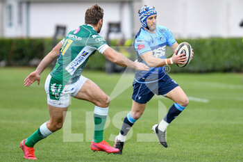 14/03/2021 - Matthew Morgan (Cardiff) and Angelo Esposito (Benetton Treviso) - BENETTON TREVISO VS CARDIFF BLUES - GUINNESS PRO 14 - RUGBY