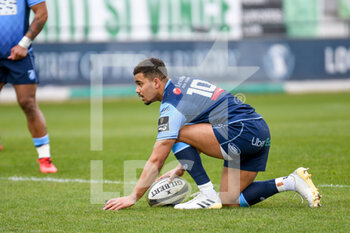 14/03/2021 - Ben Thomas (Cardiff) - BENETTON TREVISO VS CARDIFF BLUES - GUINNESS PRO 14 - RUGBY