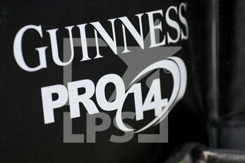14/03/2021 - Guinness Pro 14 sign, flag, illustration - BENETTON TREVISO VS CARDIFF BLUES - GUINNESS PRO 14 - RUGBY