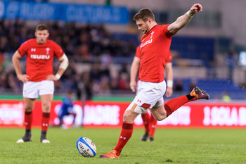 09/02/2019 - Dan Biggar - ITALIA VS GALLES SIX NATIONS 2019 - NAZIONALI ITALIANE - RUGBY