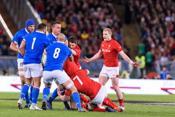 09/02/2019 - contrasto Italia vs Galles - ITALIA VS GALLES SIX NATIONS 2019 - NAZIONALI ITALIANE - RUGBY