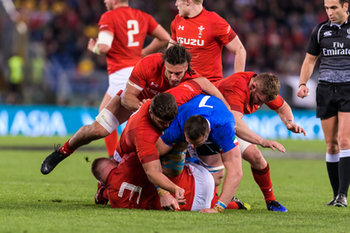 09/02/2019 -  - ITALIA VS GALLES SIX NATIONS 2019 - NAZIONALI ITALIANE - RUGBY
