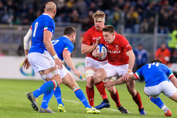 09/02/2019 - Josh Adams - ITALIA VS GALLES SIX NATIONS 2019 - NAZIONALI ITALIANE - RUGBY