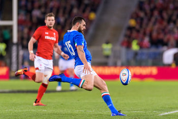 09/02/2019 - Jayden Hayward - ITALIA VS GALLES SIX NATIONS 2019 - NAZIONALI ITALIANE - RUGBY