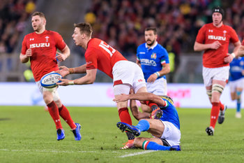 09/02/2019 - Liam Williams - ITALIA VS GALLES SIX NATIONS 2019 - NAZIONALI ITALIANE - RUGBY