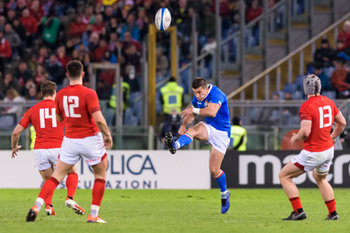 09/02/2019 - Tommaso Allan - ITALIA VS GALLES SIX NATIONS 2019 - NAZIONALI ITALIANE - RUGBY