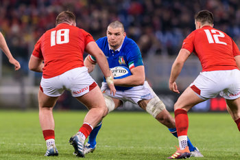09/02/2019 - David Sisi - ITALIA VS GALLES SIX NATIONS 2019 - NAZIONALI ITALIANE - RUGBY
