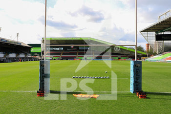 05/09/2020 - A general view inside Welford Road Stadium during the English championship Gallagher Premiership Rugby Union match between Leicester Tigers and Sale Sharks on September 5, 2020 at Welford Road Stadium in Leicester, England - Photo Jez Tighe / ProSportsImages / DPPI - LEICESTER TIGERS VS SALE SHARKS - PREMERSHIP RUGBY UNION - RUGBY