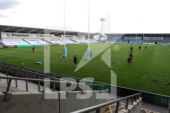 09/09/2020 - General inside view prior to the English championship Gallagher Premiership Rugby Union match between Sale Sharks and Saracens on September 9, 2020 at the AJ Bell Stadium in Eccles, England - Photo George Franks / ProSportsImages / DPPI - SALE SHARKS VS SARACENS - PREMERSHIP RUGBY UNION - RUGBY