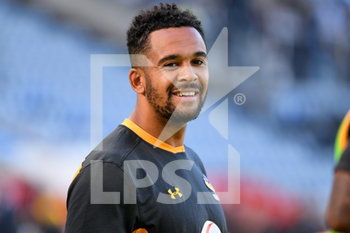 09/09/2020 - Wasps wing Zach Kibirige warms up before the English championship Gallagher Premiership Rugby Union match between Wasps and Leicester Tigers on September 9, 2020 at the Ricoh Arena in Coventry, England - Photo Dennis Goodwin / ProSportsImages / DPPI - WASPS VS LEICESTER TIGERS - PREMERSHIP RUGBY UNION - RUGBY