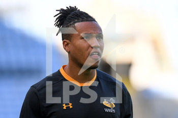 09/09/2020 - Wasps wing Marcus Watson warms up before the English championship Gallagher Premiership Rugby Union match between Wasps and Leicester Tigers on September 9, 2020 at the Ricoh Arena in Coventry, England - Photo Dennis Goodwin / ProSportsImages / DPPI - WASPS VS LEICESTER TIGERS - PREMERSHIP RUGBY UNION - RUGBY