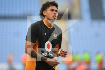 09/09/2020 - Wasps fly-half Jacob Umaga warms up before the English championship Gallagher Premiership Rugby Union match between Wasps and Leicester Tigers on September 9, 2020 at the Ricoh Arena in Coventry, England - Photo Dennis Goodwin / ProSportsImages / DPPI - WASPS VS LEICESTER TIGERS - PREMERSHIP RUGBY UNION - RUGBY