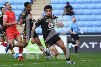 09/09/2020 - Wasps fly-half Jacob Umaga (10) scores a try during the English championship Gallagher Premiership Rugby Union match between Wasps and Leicester Tigers on September 9, 2020 at the Ricoh Arena in Coventry, England - Photo Dennis Goodwin / ProSportsImages / DPPI - WASPS VS LEICESTER TIGERS - PREMERSHIP RUGBY UNION - RUGBY