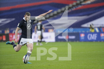26/03/2021 - Finn Russell (SCO) scored the transformation during the 2021 Six Nations, rugby union match between France and Scotland on March 26, 2021 at Stade de France in Saint-Denis near Paris, France - Photo Stephane Allaman / DPPI - 2021 GUINNESS SIX NATIONS RUGBY - FRANCE VS SCOTLAND - 6 NAZIONI - RUGBY