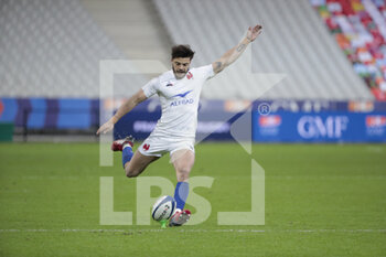 26/03/2021 - Romain NTAMACK (FRA) transformed the try scored of Swan REBBADJ (FRA) during the 2021 Six Nations, rugby union match between France and Scotland on March 26, 2021 at Stade de France in Saint-Denis near Paris, France - Photo Stephane Allaman / DPPI - 2021 GUINNESS SIX NATIONS RUGBY - FRANCE VS SCOTLAND - 6 NAZIONI - RUGBY