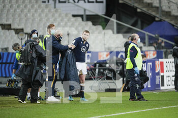 26/03/2021 - Finn Russell (SCO) received a red card and left the game during the 2021 Six Nations, rugby union match between France and Scotland on March 26, 2021 at Stade de France in Saint-Denis near Paris, France - Photo Stephane Allaman / DPPI - 2021 GUINNESS SIX NATIONS RUGBY - FRANCE VS SCOTLAND - 6 NAZIONI - RUGBY