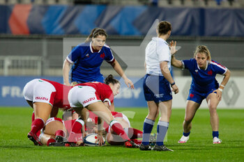 03/04/2021 - Jess Roberts of Wales during the 2021 Women's Six Nations, rugby union match between France and Wales on April 3, 2021 at La Rabine stadium in Vannes, France - Photo Damien Kilani / DK Prod / DPPI - SEI NAZIONI FEMMINILE 2021 - FRANCIA VS GALLES - 6 NAZIONI - RUGBY