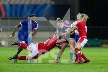 03/04/2021 - Morgane Peyronnet of France during the 2021 Women's Six Nations, rugby union match between France and Wales on April 3, 2021 at La Rabine stadium in Vannes, France - Photo Damien Kilani / DK Prod / DPPI - SEI NAZIONI FEMMINILE 2021 - FRANCIA VS GALLES - 6 NAZIONI - RUGBY