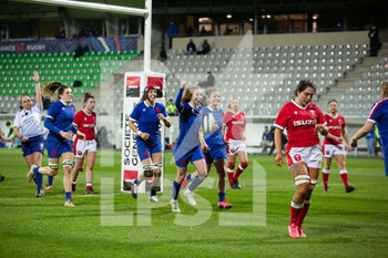 03/04/2021 - Pauline Bourdon of France during the 2021 Women's Six Nations, rugby union match between France and Wales on April 3, 2021 at La Rabine stadium in Vannes, France - Photo Damien Kilani / DK Prod / DPPI - SEI NAZIONI FEMMINILE 2021 - FRANCIA VS GALLES - 6 NAZIONI - RUGBY