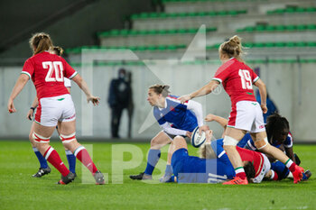 03/04/2021 - Laure Sansus of France during the 2021 Women's Six Nations, rugby union match between France and Wales on April 3, 2021 at La Rabine stadium in Vannes, France - Photo Damien Kilani / DK Prod / DPPI - SEI NAZIONI FEMMINILE 2021 - FRANCIA VS GALLES - 6 NAZIONI - RUGBY