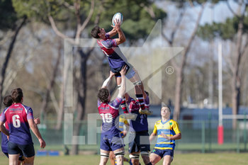 24/03/2019 - touche Unione Rugby Capitolina - PRIMAVERA RUGBY VS UNIONE RUGBY CAPITOLINA - SERIE A - RUGBY