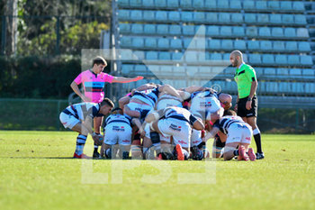 15/02/2020 - mischia - LAZIO RUGBY 1927 VS MOGLIANO RUGBY 1969 - TOP 12 - RUGBY