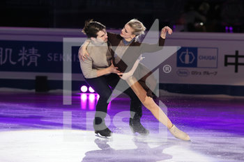 08/12/2019 - Madison Hubbel and Zachary Donohue (USA - 3rd Ice Dance) - ISU GRAND PRIX OF FIGURE SKATING - EXHIBITION GALA - GHIACCIO - SPORT INVERNALI