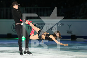 08/12/2019 - Madison Chock and Evan Bates (USA - 2nd Ice Dance) - ISU GRAND PRIX OF FIGURE SKATING - EXHIBITION GALA - GHIACCIO - SPORT INVERNALI