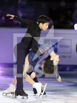 08/12/2019 - Wenjing Sui and Cong Han (China - 1st Senior Pairs) - ISU GRAND PRIX OF FIGURE SKATING - EXHIBITION GALA - GHIACCIO - SPORT INVERNALI