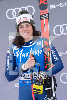 29/02/2020 - BRIGNONE Federica (ITA) 2nd CLASSIFIED - COPPA DEL MONDO - SUPER G FEMMINILE - SCI ALPINO - SPORT INVERNALI