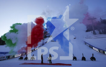 21/02/2021 - 2021 FIS ALPINE WORLD SKI CHAMPIONSHIPS, SL MEN Cortina D'Ampezzo, Veneto, Italy 2021-02-21 - Sunday Image shows  Closing Ceremony - 2021 FIS ALPINE WORLD SKI CHAMPIONSHIPS - SLALOM - MEN - SCI ALPINO - SPORT INVERNALI