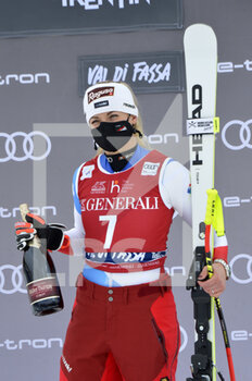 27/02/2021 - Lara Gut-Bherami the winner - 2021 AUDI FIS SKI WORLD CUP VAL DI FASSA - DOWNHILL WOMEN - SCI ALPINO - SPORT INVERNALI