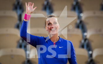 03/10/2020 - Petra Kvitova of the Czech Republic celebrates after winning against Leylah Fernandez of Canada during the third round at the Roland Garros 2020, Grand Slam tennis tournament, on October 3, 2020 at Roland Garros stadium in Paris, France - Photo Rob Prange / Spain DPPI / DPPI - ROLAND GARROS 2020, GRAND SLAM TOURNAMENT - INTERNAZIONALI - TENNIS